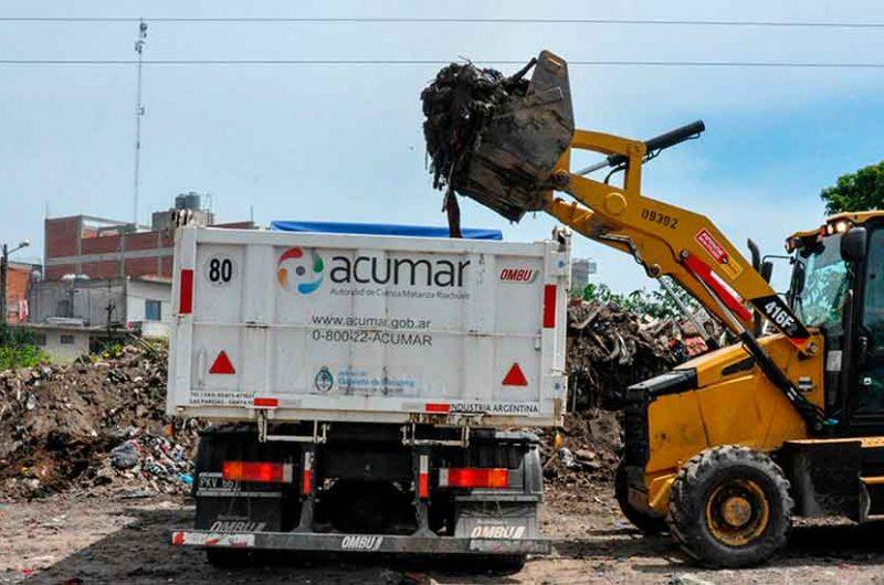 9000 toneladas de residuos fueron recolectados por ACUMAR
