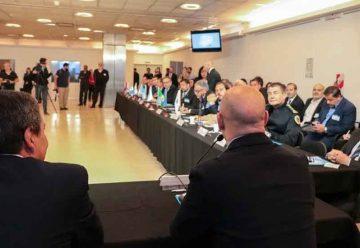 Ministros de Seguridad de todo el país recorrieron el 911