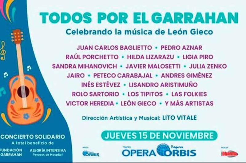 """Gran festival """"Todos por el Garrahan"""""""