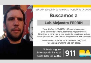 Búsqueda de Luis Alejandro Ferrin