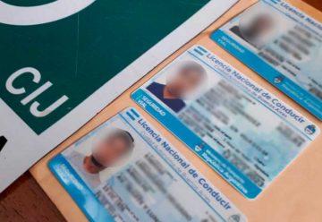 Allanamientos por falsificación de registros de conducir