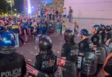 Disturbios y detenidos en el Obelisco