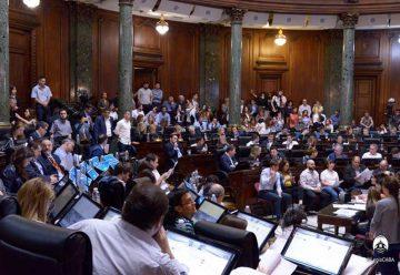 La Legislatura aprobó el Presupuesto 2019
