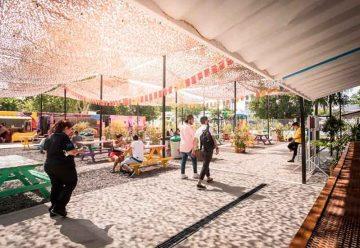 Nuevo patio gastronómico en Parque Patricios