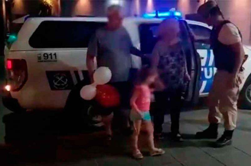 Rescataron a nena de tres años secuestrada en auto robado