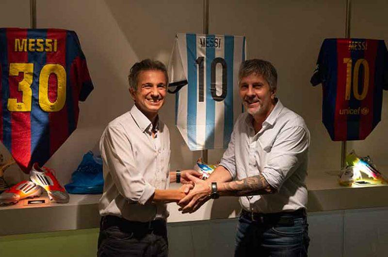 El Garrahan y Messi juntos por la Investigación contra el Cáncer Infantil