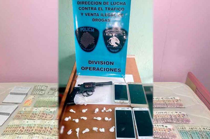 La justicia Desbarataron bunker de drogas