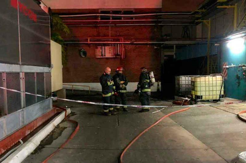 Explosión e incendio en un laboratorio en Mataderos