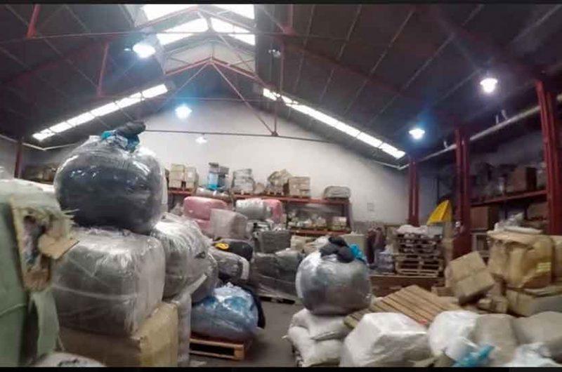 Allanaron una empresa de transporte por contrabando de drogas