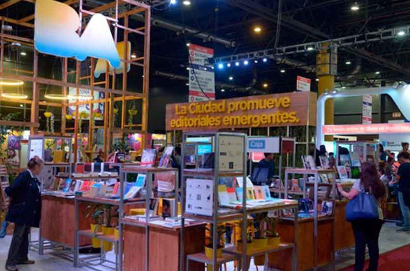 Stand de la Ciudad en la Feria Internacional del Libro
