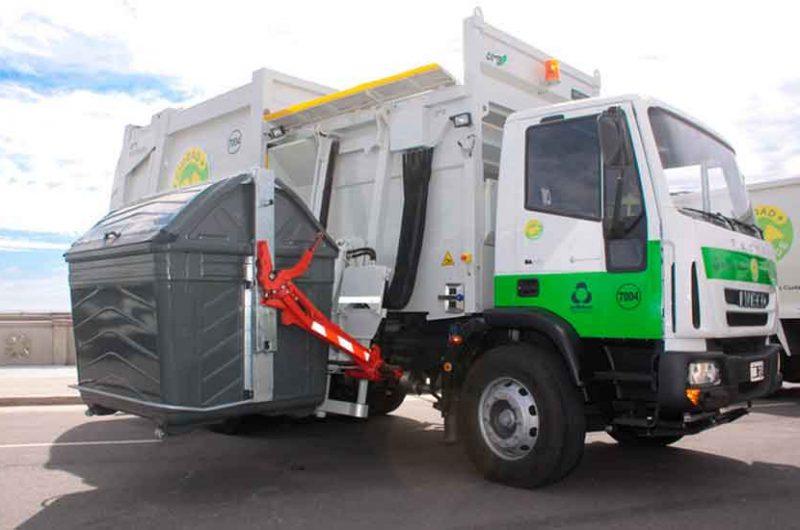 La recolección de residuos será normal el lunes 14
