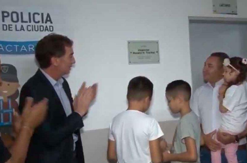 Se inauguró el lactario «Roxana Trochel» en la Comuna 4