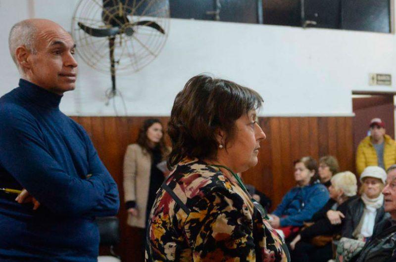 Horacio Rodríguez Larreta y Graciela Ocaña estuvieron en Nueva Pompeya