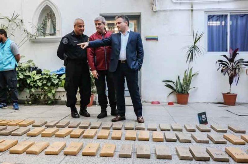 La Policía de la Ciudad incautó cerca de 300 kilos de marihuana