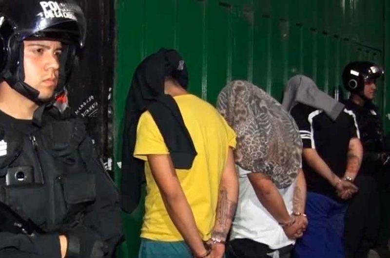 La Policía detuvo a tres hombres con cocaína