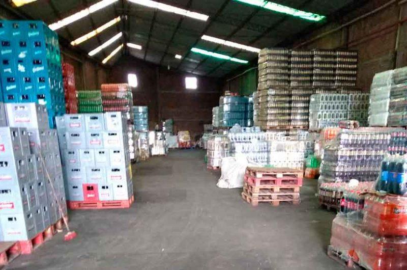 Clausuraron una distribuidora de bebidas en Barracas