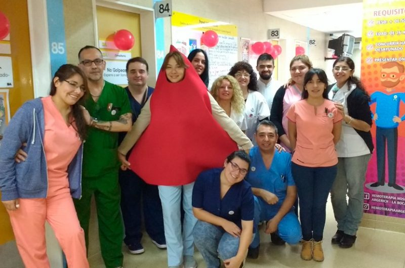 Comenzó la «Semana de la donación voluntaria de sangre»