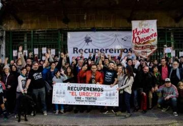 Les reclaman 400 mil pesos a integrantes de la Asamblea en Defensa del Cine Teatro Urquiza