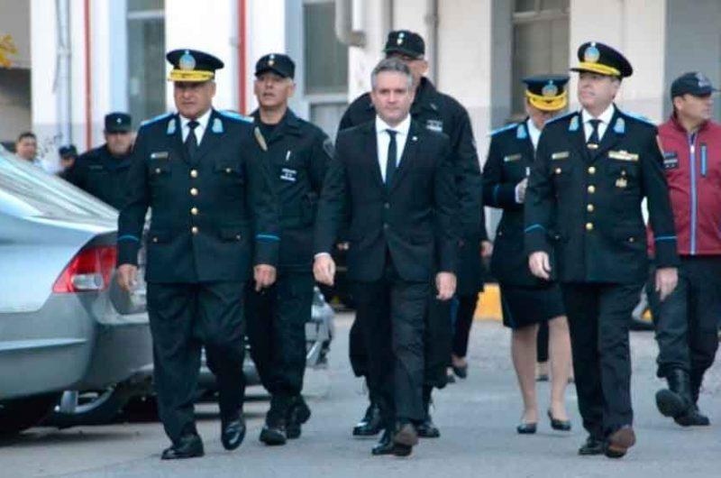 La Policía de la Ciudad realizó los festejos patrios por el 25 de Mayo