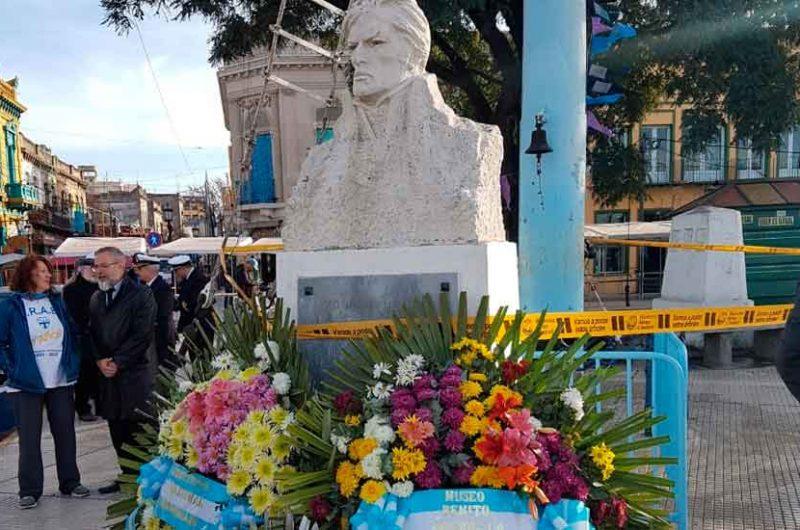 Acto por el 242º Aniversario del nacimiento del Almirante Brown