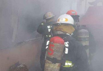 Incendio de un departamento en Parque Patrios