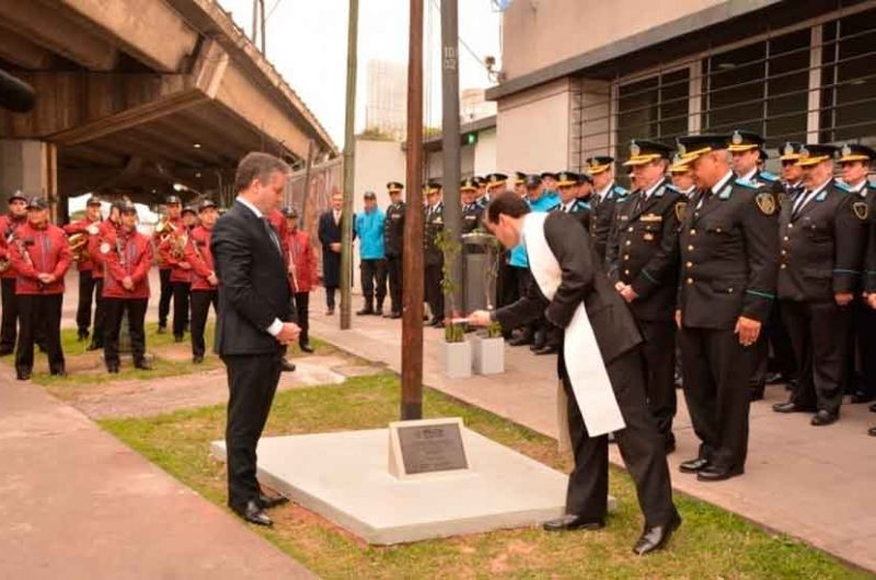 La Policía de la Ciudad celebró el dia de la Independencia