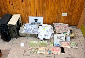 """Juego clandestino: La Policía allanó """"El Garito de Lugano"""""""