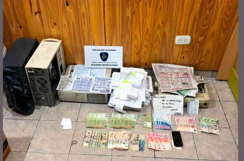Juego clandestino: La Policía allanó «El Garito de Lugano»