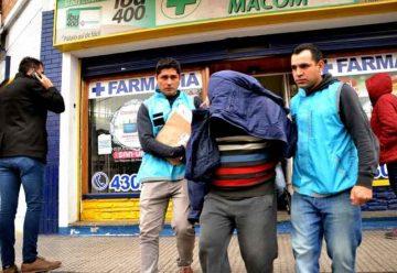 """Detuvieron a """"Falso Farmacéutico"""" en La Boca"""