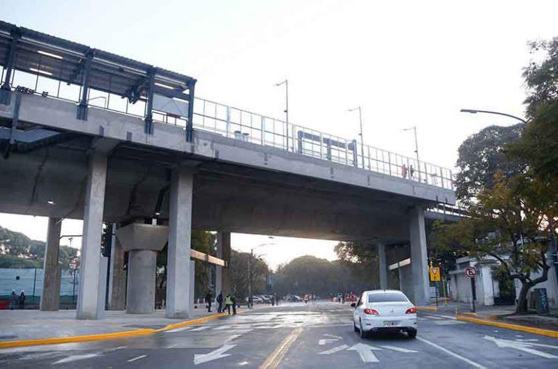 Ya son ocho las barreras eliminadas por el Viaducto Mitre