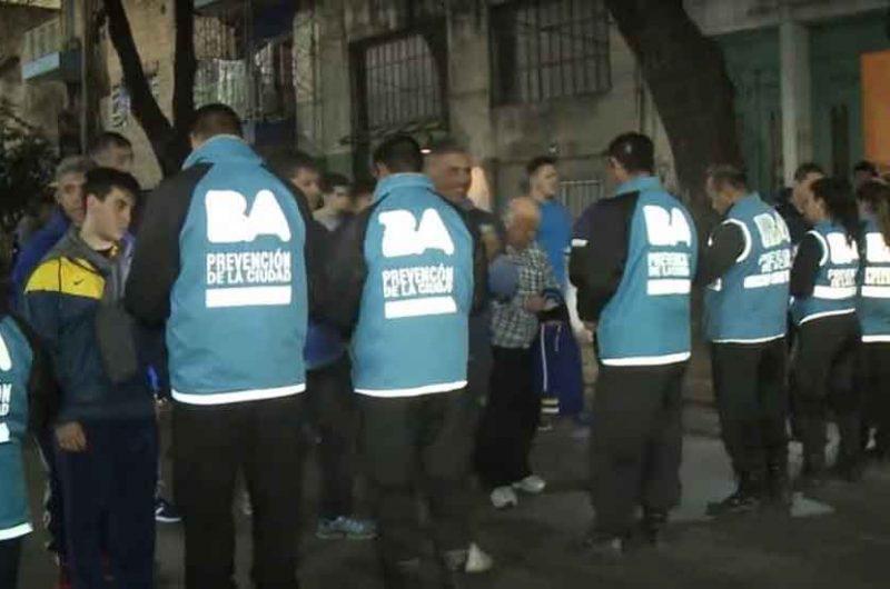 Tres detenidos y 12 simpatizantes restringidos en Boca vs. Atlhetico Paranaense