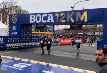El domingo se celebró la tradicional carrera «Boca 12KM»