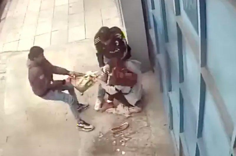 Violento robo a una joven mujer en Barracas