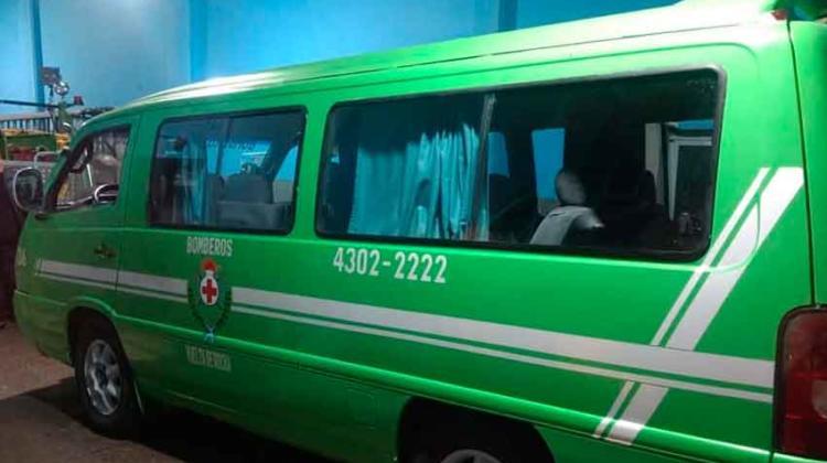 Nuevo vehiculo para Bomberos Vuelta de Rocha