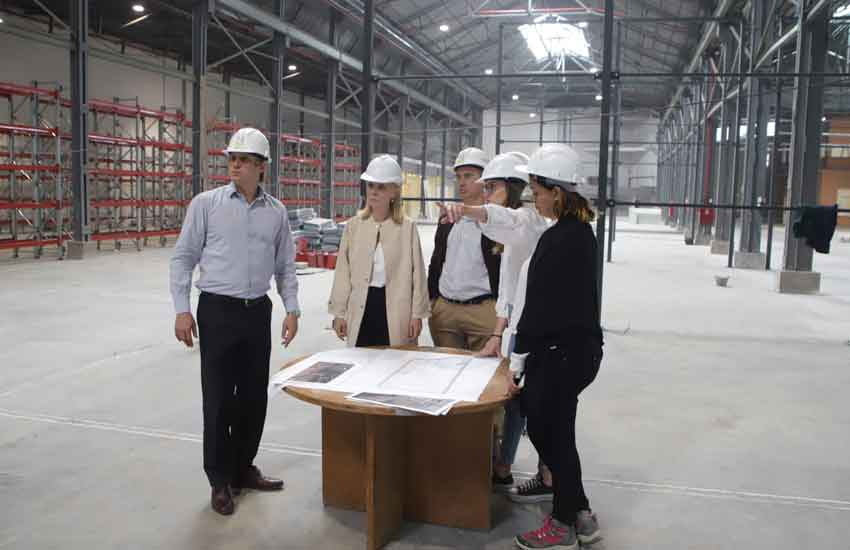 Nuevo edificio para los talleres y depósitos del Teatro Colón