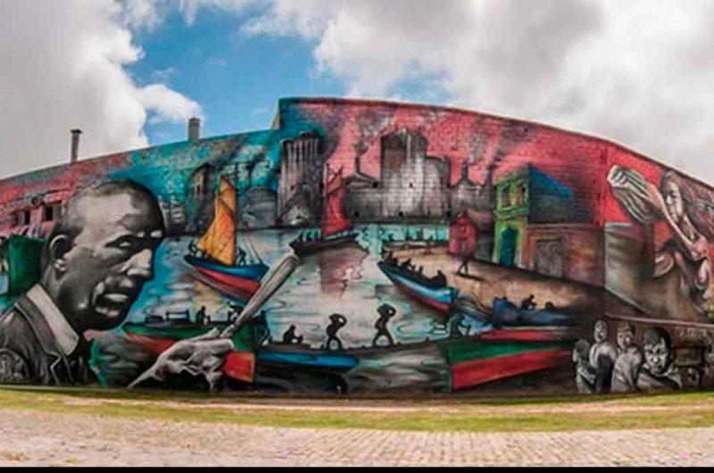 Distinguen al mural «El Regreso de Quinquela»