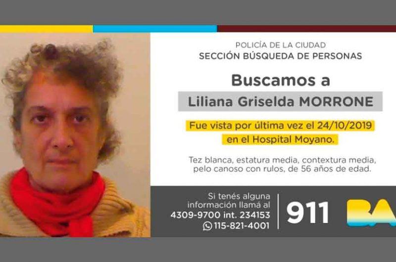 Búsqueda de persona – Liliana Griselda Morrone