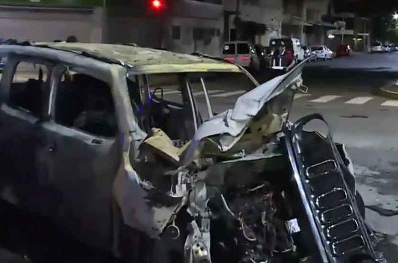 Roban una camioneta, asaltan a mujer en Barracas y chocan en La Boca