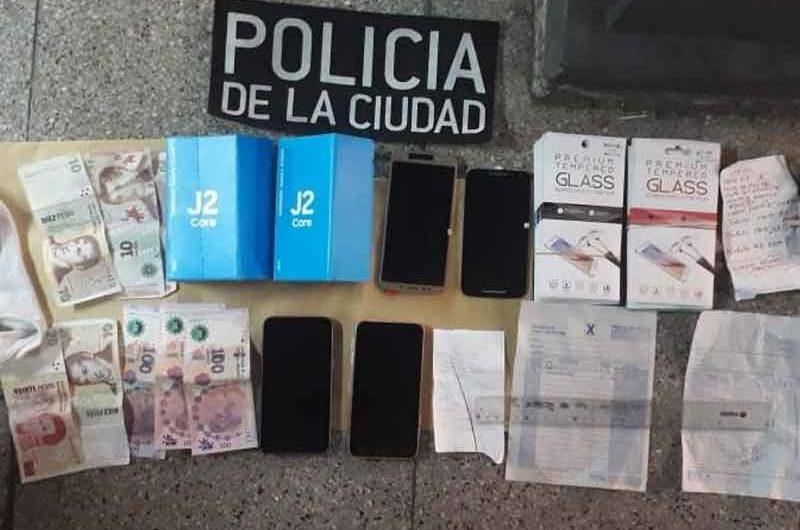 Detienen a un delincuente con celulares robados en la Línea B de subte