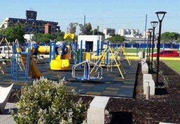 Quedó inaugurado el Parque Social y Deportivo Boca