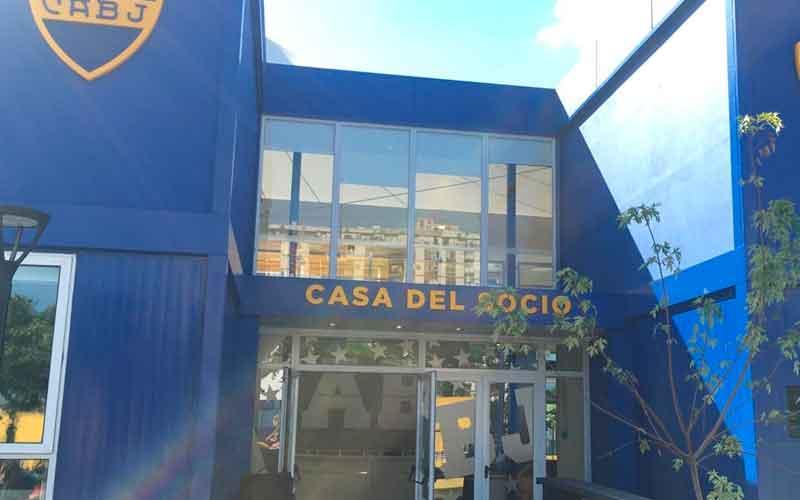 Inauguración de la Casa del Socio de Boca Juniors