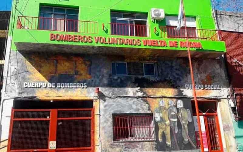 85° aniversario de Bomberos de Vuelta de Rocha