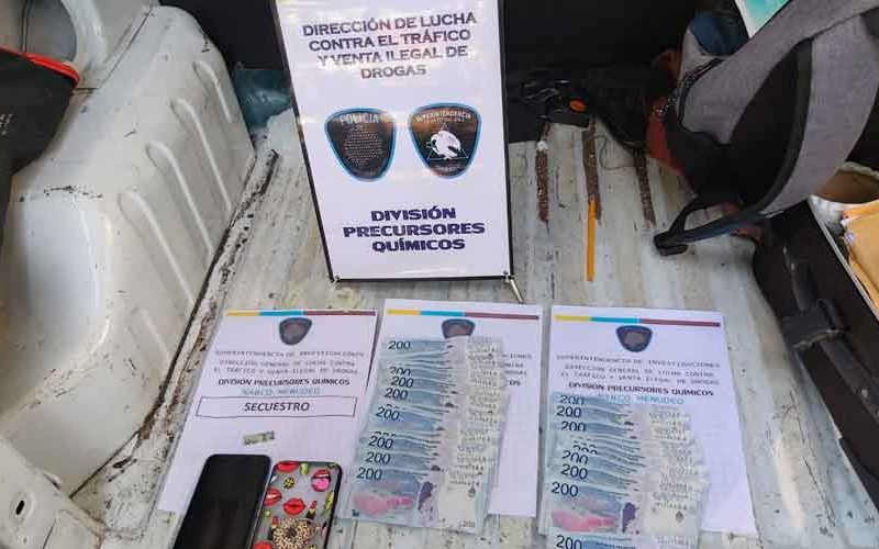La Policía de la Ciudad detuvo un hombre que vendía LSD