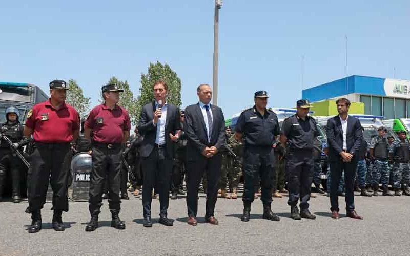 Berni y Santilli: Trabajo en conjunto entre policías de Ciudad y Provincia