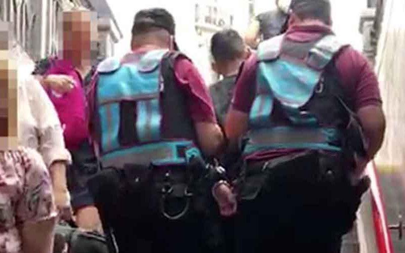 La Policía capturó a un punga en la Línea B del Subte