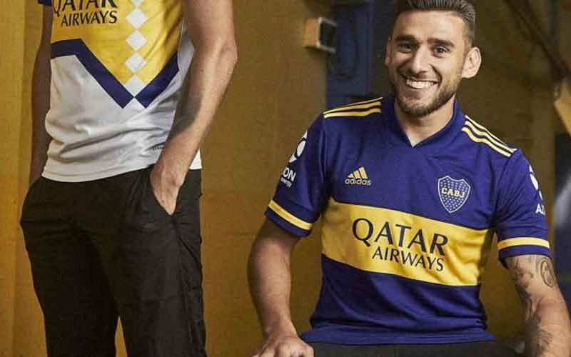 Boca lanzó su camiseta con récord de ventas