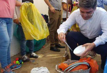 Campaña de Descacharreo y Prevención del Dengue por la Ciudad