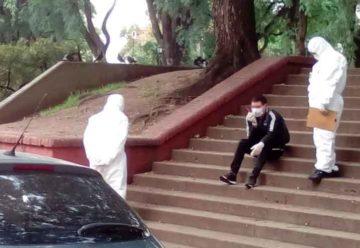 Un hombre de 37 años interrumpió la cuarentena y se descompensó