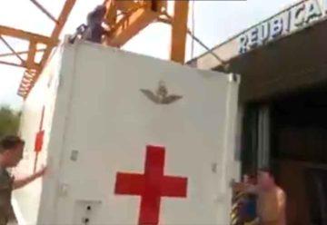 El Hospital Reubicable de la Fuerza Aérea será instalado en Pompeya