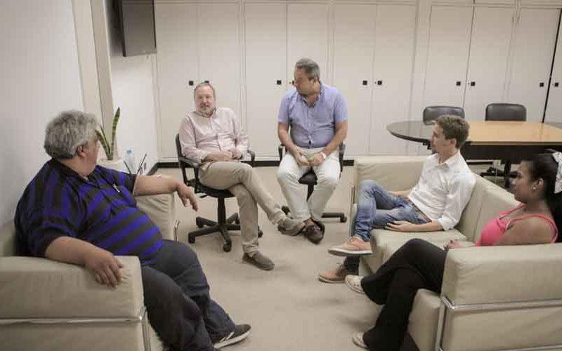 El presidente de ACUMAR se reunió con representantes de las Comunas 4 y 8